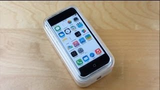 iPhone 5c Unboxing & Turn On