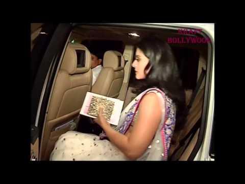 Kajol In Sexy White Translucent Saree video