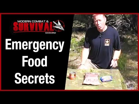 Emergency Food Secrets For Survival Kit
