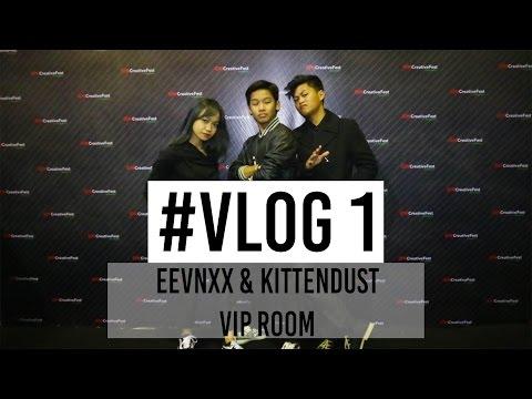 VIP ROOM WITH AGUNG HAPSAH & FATHIA IZZATI IDN Creative Fest VLOG