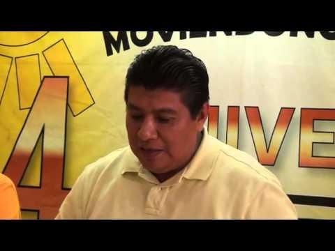Rueda de prensa PRD Municipal Campeche 25 septiembre 2014