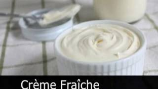 Homemade Creme Fraiche! How to Make Sour Cream - Foodwishes
