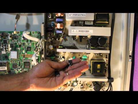 How To Repair Samsung Plasma 42