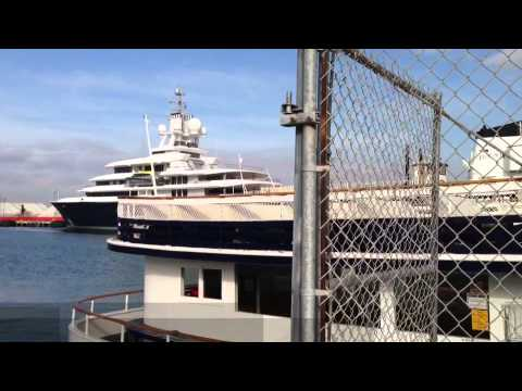 Russian Oligarch's Yacht in San Diego