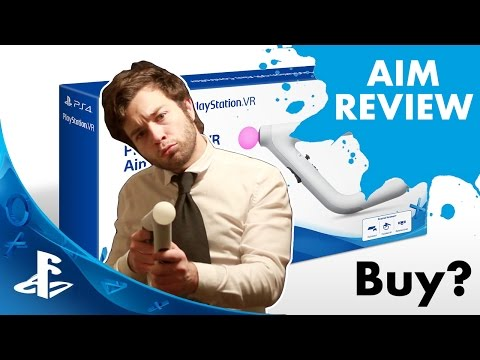 PSVR Review→Aim Controller Review & Farpoint Bundle Unboxing #PSVR