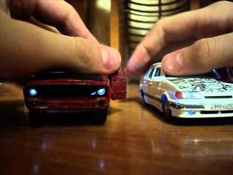Как занизить игрушечную машинку своими руками фото