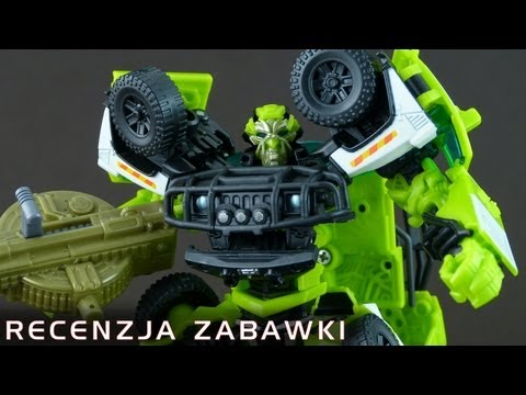 Deluxe Ratchet - polska recenzja zabawki - Transformers 3 Dark Of The Moon
