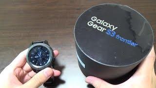 【スマートウォッチ】ベゼルの回転操作がキモチイイ!Galaxy Gear S3 frontierの紹介