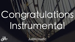 download lagu Congratulations - Post Malone Ft. Quavo Acoustic Instrumental gratis