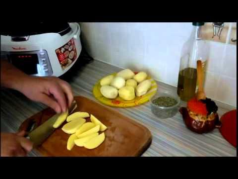 Картошка в мультиварке по деревенски