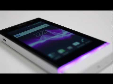 Sony Xperia U - First look