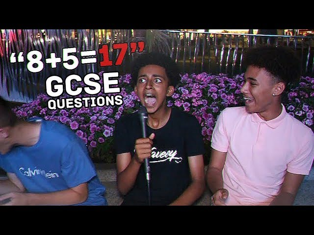 8517 ASKING THE PUBLIC GCSE QUESTIONS - How smart is the UK?