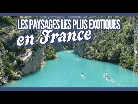 top des plus beaux paysages exotiques en france topito youtube. Black Bedroom Furniture Sets. Home Design Ideas