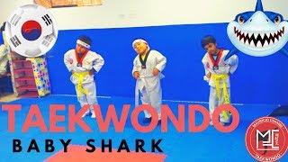 Taekwondo Baby Shark/ kids 5 years