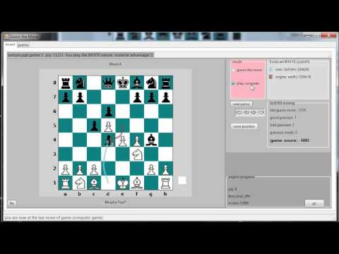 Guess the Move -- Chess training software (for Windows OS, free)