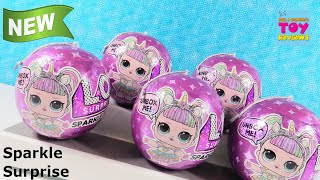 LOL Surprise Sparkle Series NEW Color Change Doll Blind Bag Toy Review | PSToyReviews