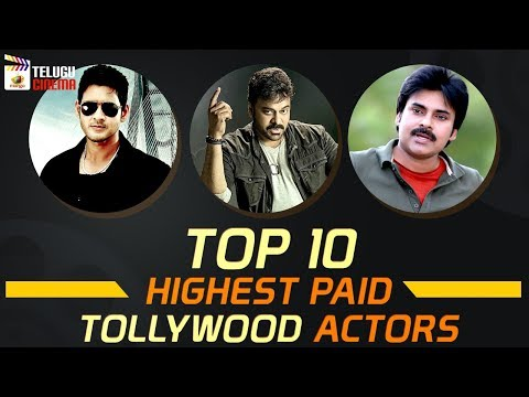 TOP 10 Highest PAID Tollywood Actors | Tollywood Latest Updates | Trending Videos | Telugu Cinema