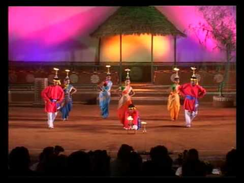Folk Dance Of Goa - Lamp Dance video