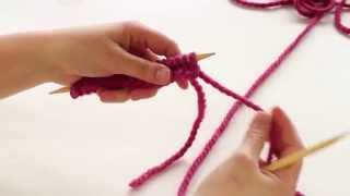 How to Knit: Slip Slip Knit - SSK