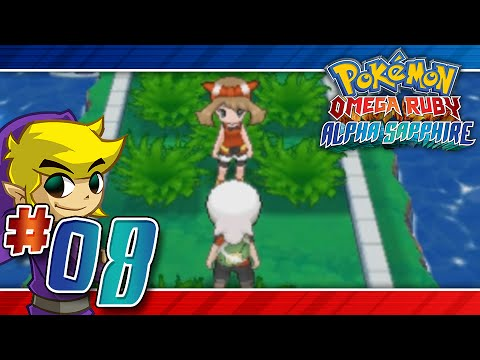 Lets Play Pokemon: Omega Ruby - Part 8 - Let it rip!