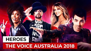 'Heroes' by The Voice Australia 2018 Coaches