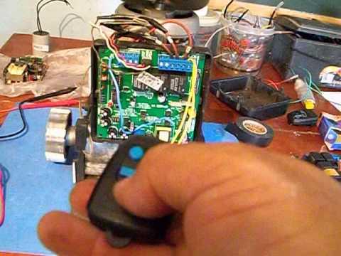 como codificar controle remoto motor peccinin