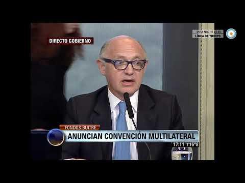 Visión 7 - Fondos buitre: Convención multilateral para el tratamiento de las deudas soberanas