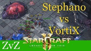 Stephano vs VortiX (ZvZ) - WCS Valencia - Starcraft 2: LotV Profi Replays [Deutsch   German]