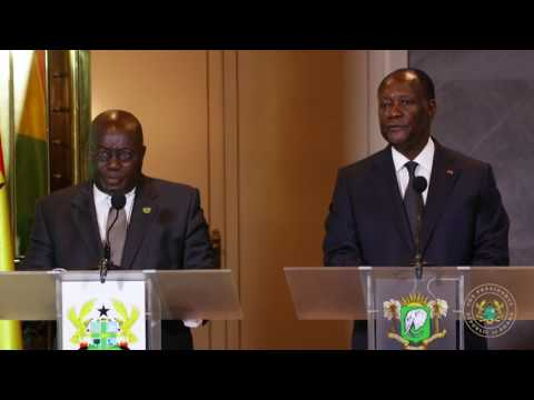 President Arrives in Ivory Coast