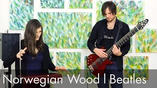 Norwegian Wood - Beatles (Cover): Theremin Session #13