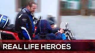 Real Life Heroes Bikers Helping Others #2