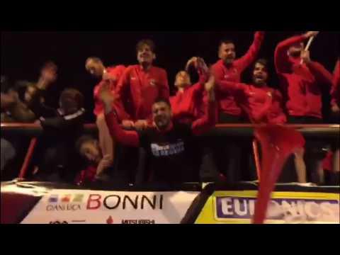 Foggia in Serie B: le immagini della festa in città