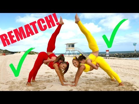 Download Big sisters VS Little sisters EXTREME YOGA CHALLENGE! REMATCH! Mp4 baru