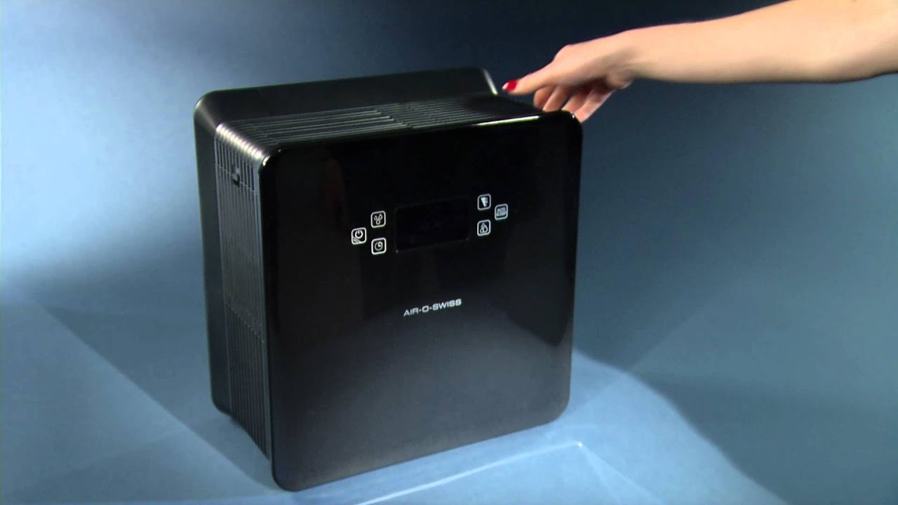 Luftwäscher AIR O SWISS W520: Bedienungsvideo   #BD5A0E