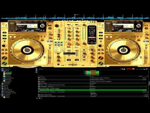 CDJ2000 DJM900 Gold Skin Download Virtual dj 8 & 7