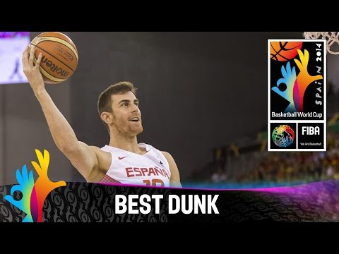 Spain v Egypt - Best Dunk - 2014 FIBA Basketball World Cup