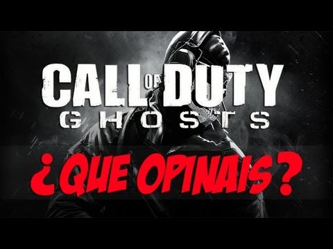¿Qué opináis sobre Call of Duty Ghosts? | Black OPS 2
