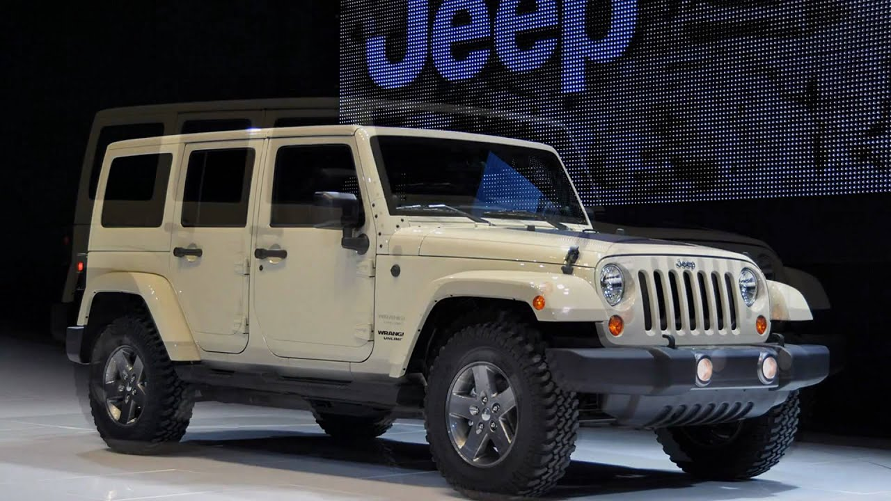 2011 jeep wrangler mojave 2011 new york auto show youtube. Black Bedroom Furniture Sets. Home Design Ideas