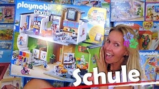 PLAYMOBIL 🏫 Große Schule mit Einrichtung 9453 Unboxing City Life