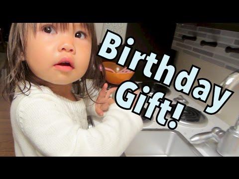 Julianna's Birthday Gift! - October 22, 2014 - itsJudysLife Daily Vlog