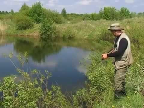 ловля щуки весной в озере щербаковы