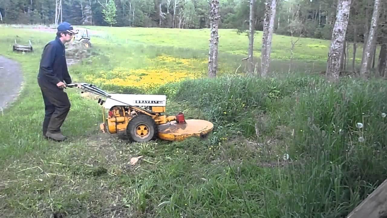 gravely commercial 12 bush hogging