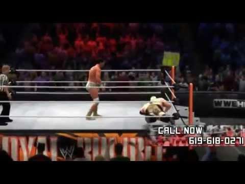 WWE :  ROYAL RUMBLE 2013 LIVE - WWE 13 PPV LIVE (MACHINIMA)