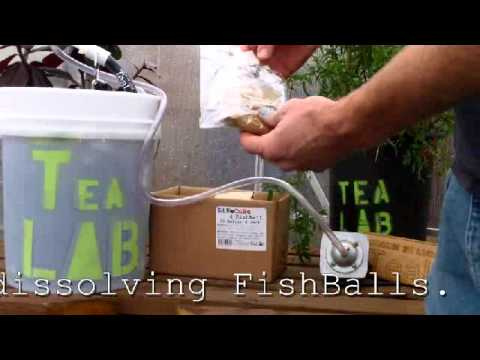 TeaLAB's 5 Gallon Compost Tea Brewer Kit Demonstration Video