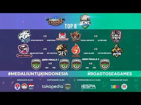 [MLBB] SFI CRITICAL vs PECAH UTAK (BO3) - IENC 2019: Road To SEA GAMES Main Event Day 2