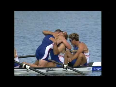 STEVE REDGRAVE & MATHEW PINSENT  OLYMPICS  2000   SYDNEY ROWING