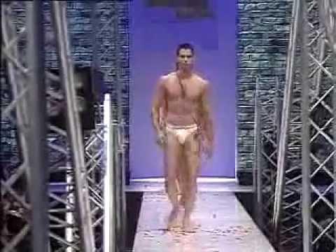 Marcus Schenkenberg - Underwear show (John Galliano) 2008