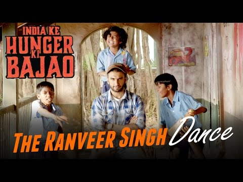 The Ranveer Singh Dance: India Ke Hunger Ki Bajao | Www.hungerkibajao.com