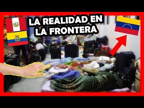 Así esta la frontera Perú - Ecuador, Venezolanos duermen en la calle | Peruvian Life