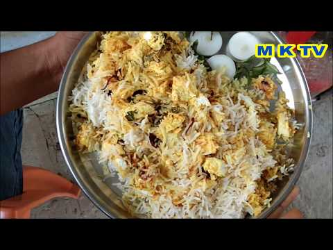 Paneer biryani | HOW TO MAKE PANEER BIRYANI IN TELUGU | M K TV VILLAGE FOOD | M K TV